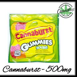 Cannaburst | 500mg THC | 5 for $80