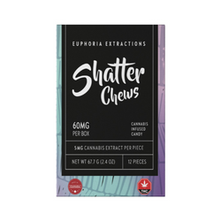 60mg Indica Shatter Chews