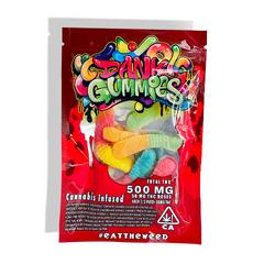 Dank Gummies Worms 500mg