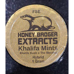 Honey Badger HTCE - 1gr - Khalifa Mints