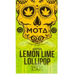 🍭Lemon Lime THC Lollipop   ◾MOTA◾     ◈150mg
