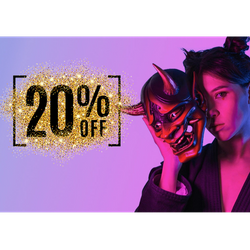 20% OFF | COUPON CODE 'FOUR20'