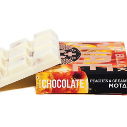 🐱👤 PEACHES & CREAM Chocolate Cube   ◾MOTA◾      ◈1800mg
