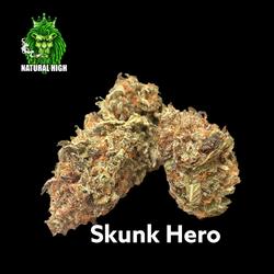 Skunk Hero AAA++ 28% THC (50%OFF= $115 AN OZ)