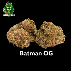 Batman OG AAA++ 28%THC (50%off = $115 an oz)
