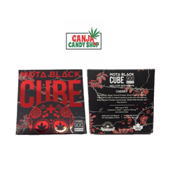 Mota Black 900mg THC Milk Chocolate Cherry Cube