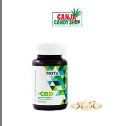 Mota Full Spectrum CBD Cannabis Oil Capsules - 30 caps per bottle