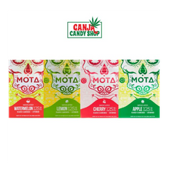 Mota Medicated Hard Candies - 125mg THC (10 pcs)