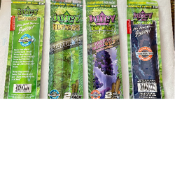 Juicy Hemp Wraps [Natural/Grape]