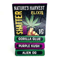 Nature's Harvest Shatter - 3 Flavours (ON SALE)