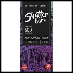 500 mg Shatter Bars -  Indica