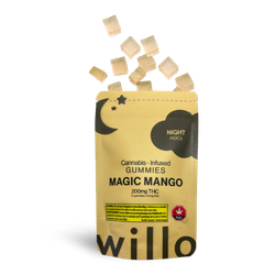 200mg THC MAGIC MANGO (NIGHT) GUMMIES