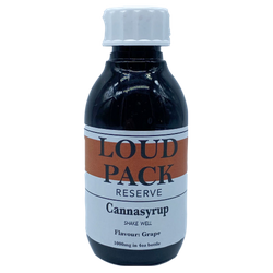 1000mg THC Blueberry Cannasyrup