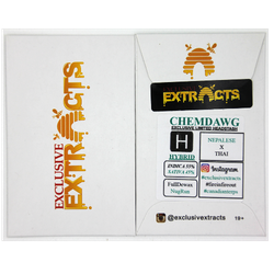 Exclusive Extracts : Chemdawg