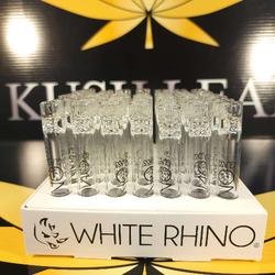White Rhino Glass Chillum