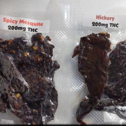 Beef Jerky - 200mg THC