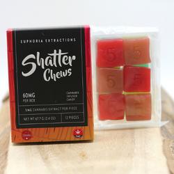 Gummy SHATTER CHEWS(SATIVA) – 60MG THC