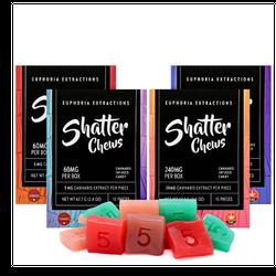 Gummy SHATTER CHEWS(INDICA) - 60MG THC