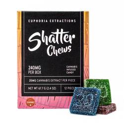Sativa Shatter Chews - 240mg Full Spectrum Extract