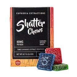 Sativa Shatter Chews - 60mg Full Spectrum Extract
