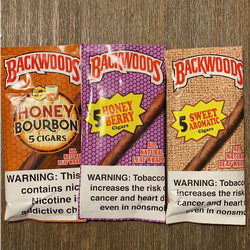 ??NEW NEW?? BACKWOODS Rolling  - 5 CIGARS