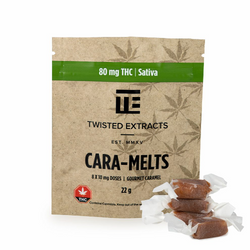 TWISTED EXTRACTS - CaraMelts Sativa (80mg THC)