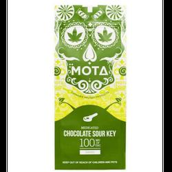 MOTA CHOCOLATE DIPPED SOUR KEY 100MG THC