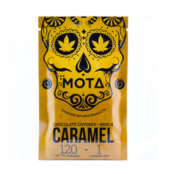MOTA CHOCOLATE COVERED CARAMEL 120MG THC