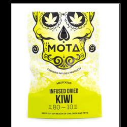 MOTA INFUSED DRIED KIWI 80MG THC / 10MG CBD