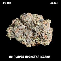 AAAA+ BC ROCKSTAR PURPLE ISLAND(QUAD-NEW)