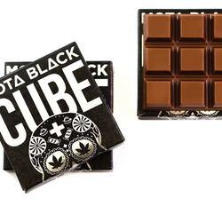 🥛😜MILK Chocolate Cube   ▪︎MOTA BLACK▪︎     ◈600mg