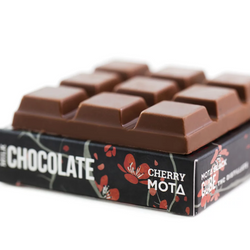 🍒🥛 Cherry Milk Chocolate Cube    ▪︎MOTA▪︎    ◈900mg
