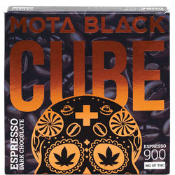 🌑🌑MOTA Black Espresso Dark Chocolate Cube     ◈900mg