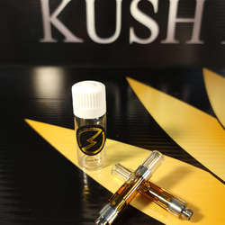 Death Bubba (Indica) 1 G Vape Cartridge by High Voltage Extracts