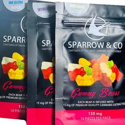 🦅Sparrow & Co  🦅 Gummy Bears      ◈150mg
