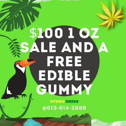 DEALS $100 OZ plus 2 packs of GUMMIES