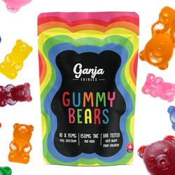 Ganja Bears Gummies – 150mg