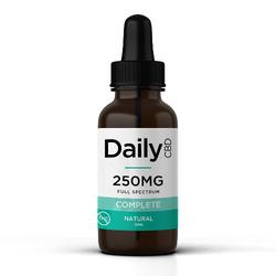 Daily Tincture – Full Spectrum CBD Tinctures – 250mg Complete