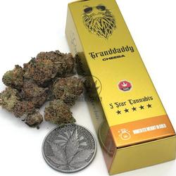 🔴HOT SALE! $10 off-Now Only $70!🔴Granddaddy Cheeba Gold Bar ◈7g