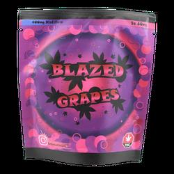 BLAZED GRAPES 400MG THC