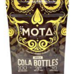 MOTA  Cola Bottle Gummies 100mg THC (Indica)