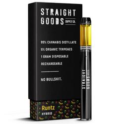 Straight Goods 1 Gram Cart – Runtz