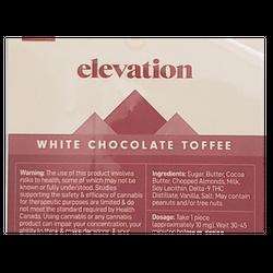 Elevation Toffee Chocolate Bar - 200mg