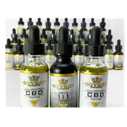 Sovrin Extracts 1:1 THC/CBD Tincture (750MG) 30ml