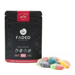 FADED EDIBLES - FRUIT PACK   240MG
