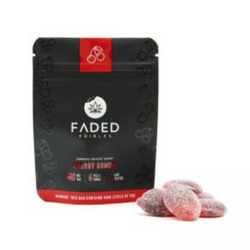 FADED EDIBLES - CHERRY BOMBS   180MG