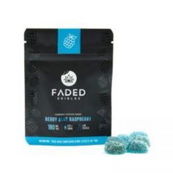 FADED EDIBLES - BLUE RASPBERRY | 180MG