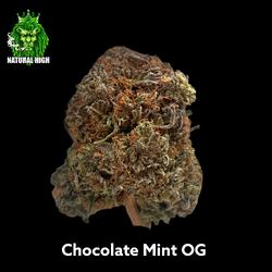 Chocolate Mint OG AAA 27%THC - Reg Price $250