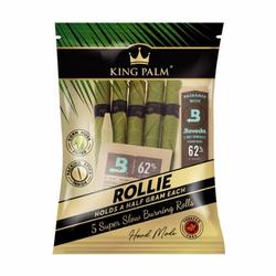 King Palm Blunt Wrap - 5 Rollie Rolls