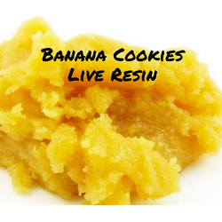 Banana Cookies **Live Resin**